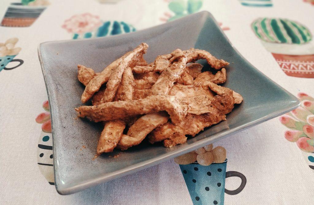 Fingers de pollo tandoori